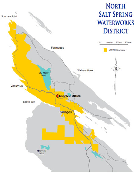 The District - North Salt Spring Water Works on yellow cat utah map, harrison hot springs map, salt island bvi map, queen charlotte islands map, gulf islands map, fairfield island map, sea island map, vancouver island map, denman island map, granville island map, nanaimo map, pender island map, radium hot springs map, seattle islands map, savary island map, quadra island map, hornby island map, lasqueti island map, bella coola map, cortes island map,